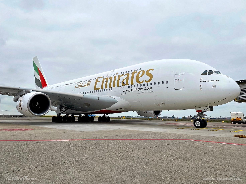 阿联酋航空A380客机       阿联酋航空供图