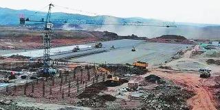绥芬河机场项目建设紧张进行