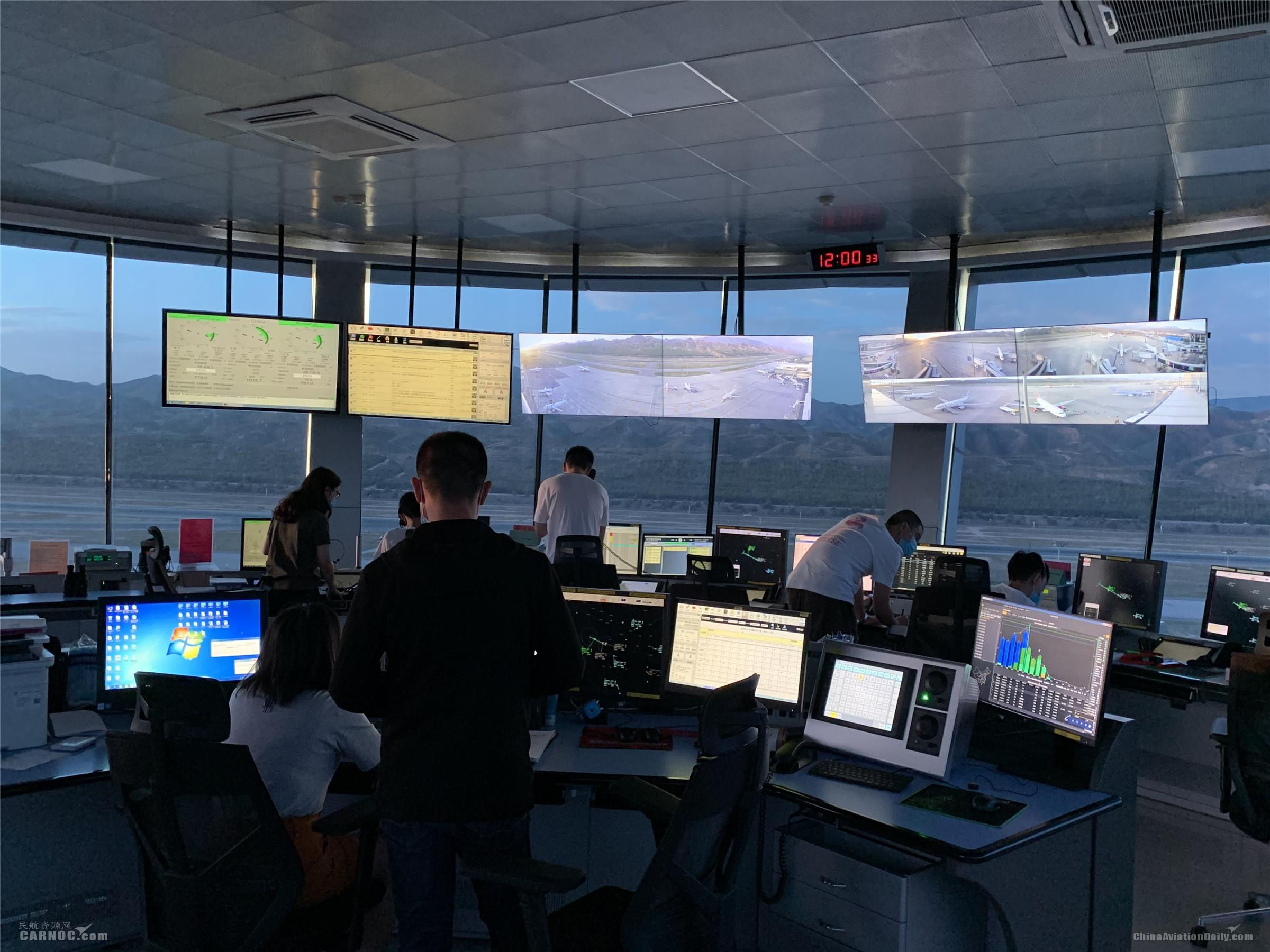 民航青海空管分局航班日保障架次再创新高