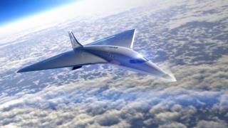 维珍银河发布3倍音速飞机设计