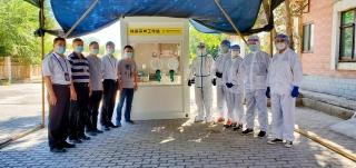 南航新疆启用新型户外核酸采样站 用于空勤人员核酸采样