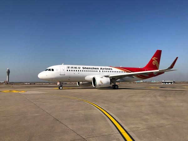 深航迎来第13架空客A320NEO飞机