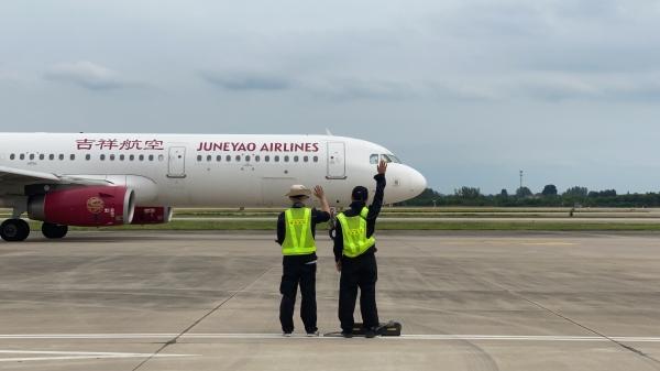 吉祥航空复航南京—大阪航线 787梦想客机首次投放南京进出港运行
