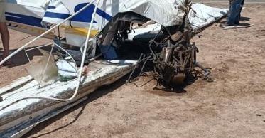 埃及一小型飞机坠毁致2人受伤