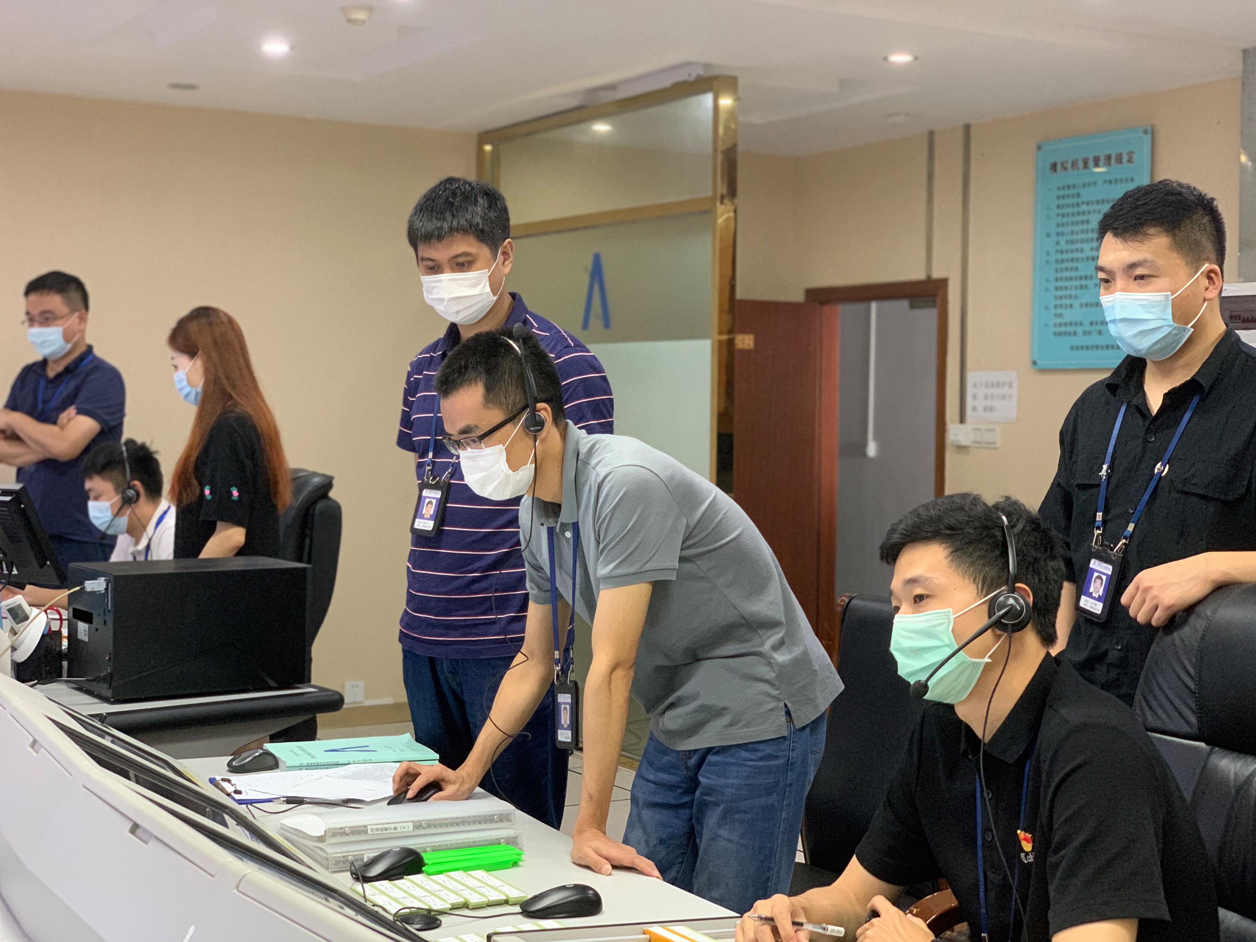 珠海空管站与珠海机场开展机坪管制移交联合模拟机培训