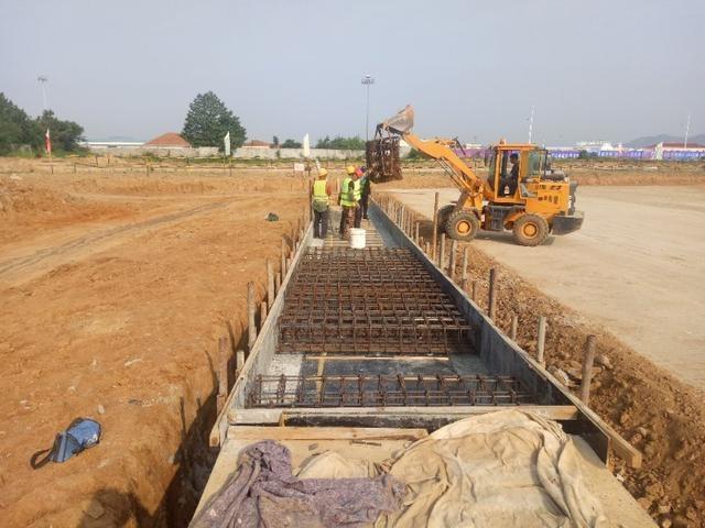 威海機場全力以赴推進重點工程建設