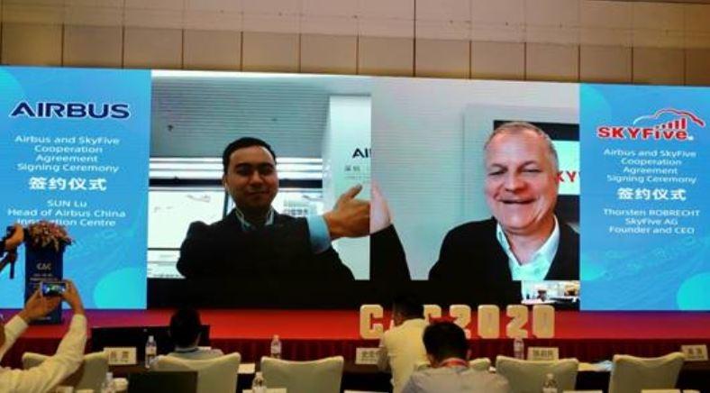 空客拟开发满足中国市场需求的5G空地互联技术解决方案