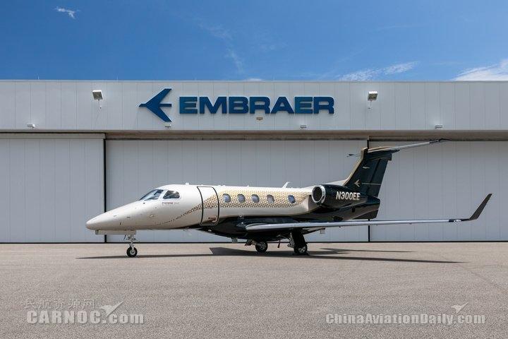 巴航工业向PALS联合创始人交付首架采用全新Bossa Nova内饰的飞鸿300E
