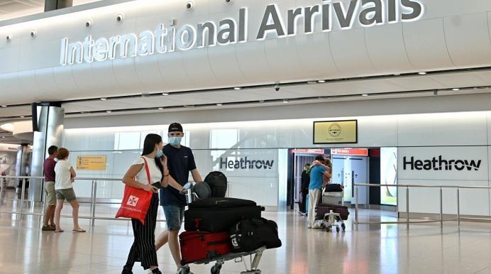 伦敦希思罗机场拟推新冠快速测试方案以缩短隔离期