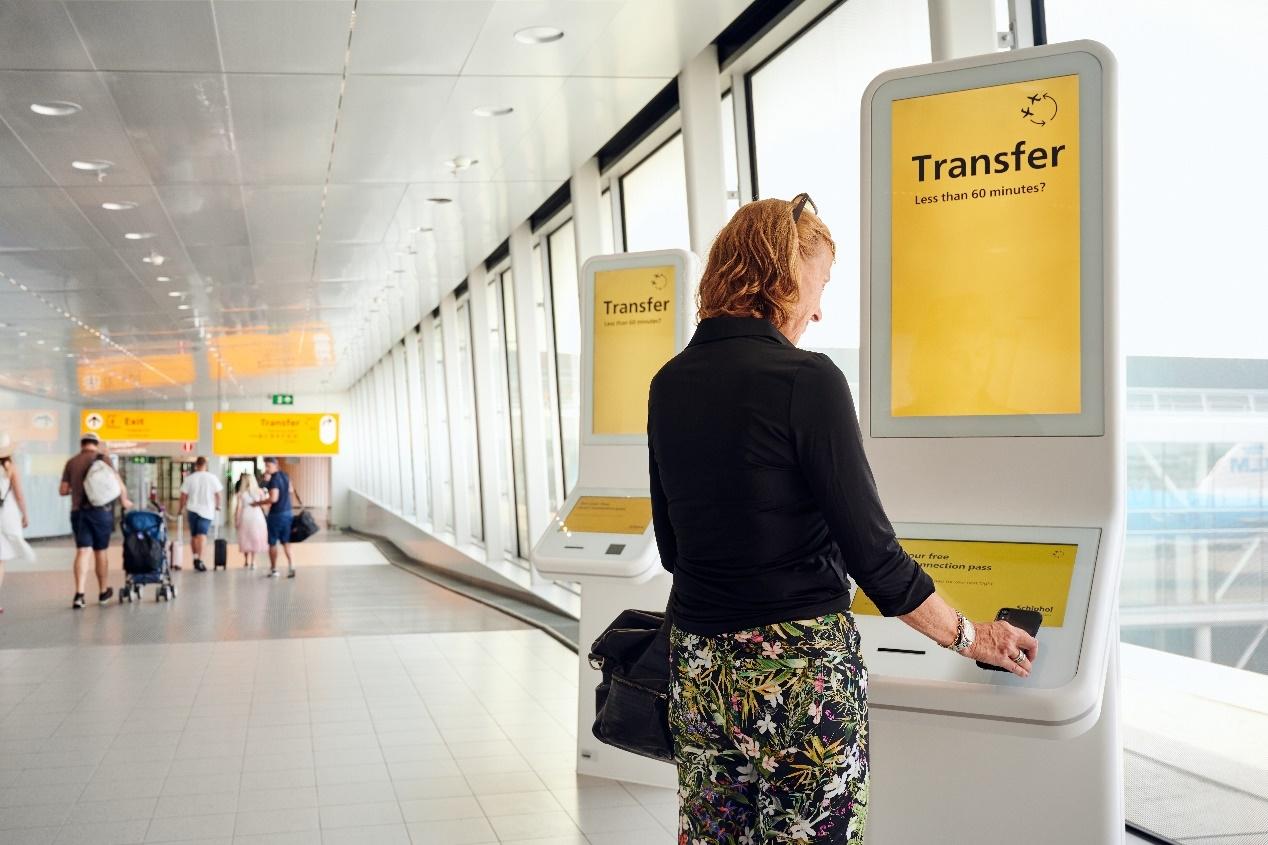 快速中转通行证 史基浦机场为旅客提供快速中转服务