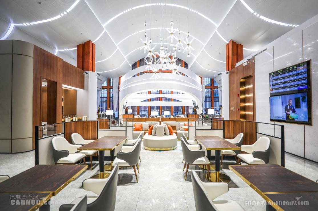 三亚机场V3头等舱休息室即日起重新投入使用