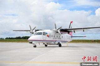 黑龙江打造交旅融合新业态 开启运12F载客运营首航