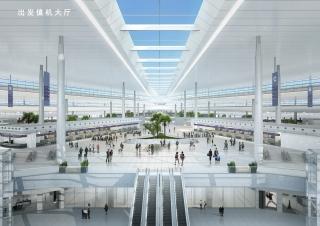 长沙机场改扩建工程设计方案公布  T3航站楼将建飞行区观景平台