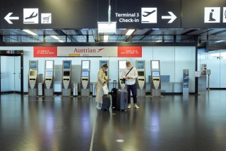 9月11日奥地利维也纳国际机场  摄影:乔治斯·施耐德
