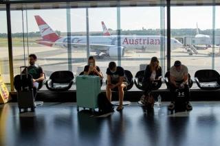 维也纳机场1月至8月客流量同比大幅下降