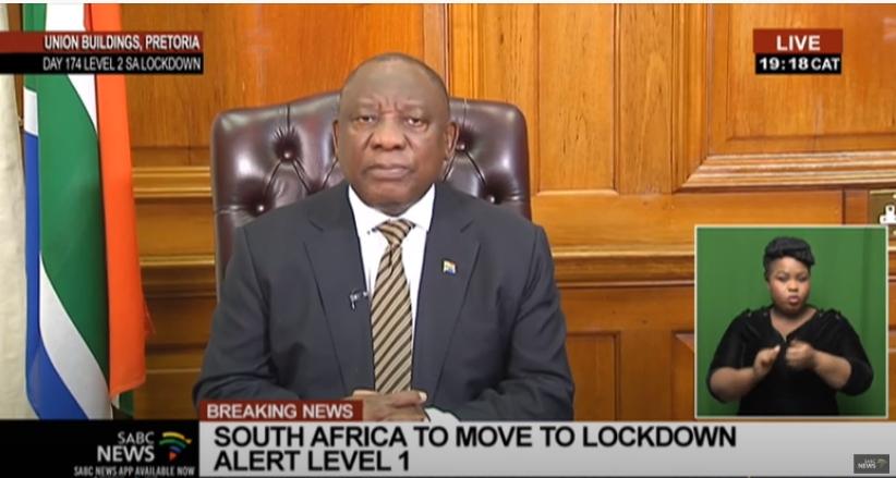 南非21日起防疫级别下调至1级 三大国际机场将开放国际航班