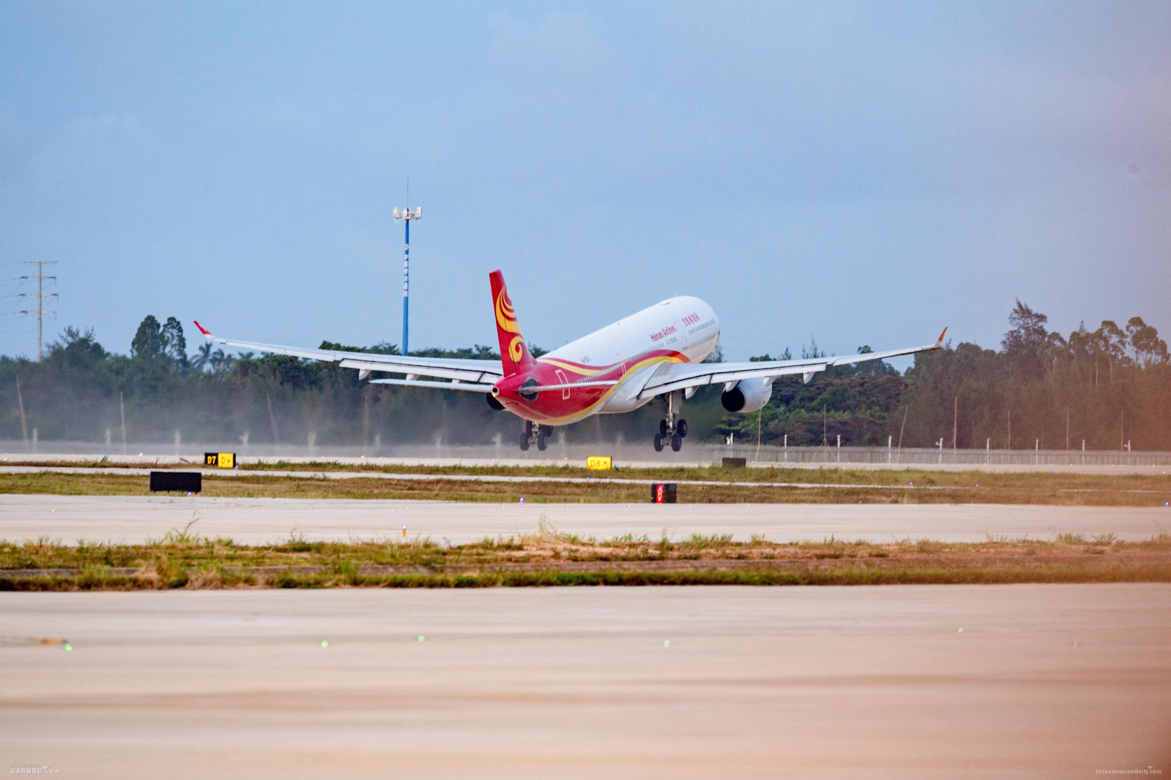 海口美兰机场年旅客吞吐量连续十年超过1000万人次