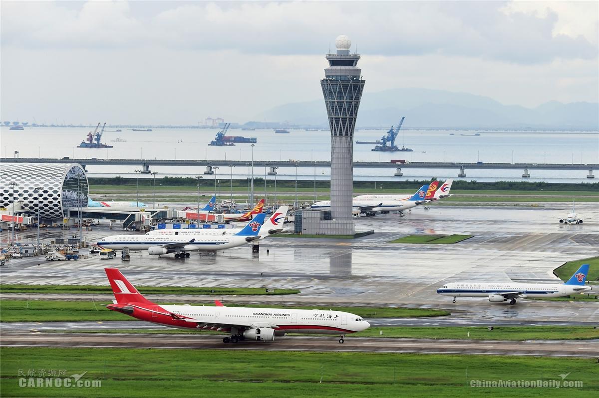 深圳机场国内客流、客运通航点已恢复至去年同期