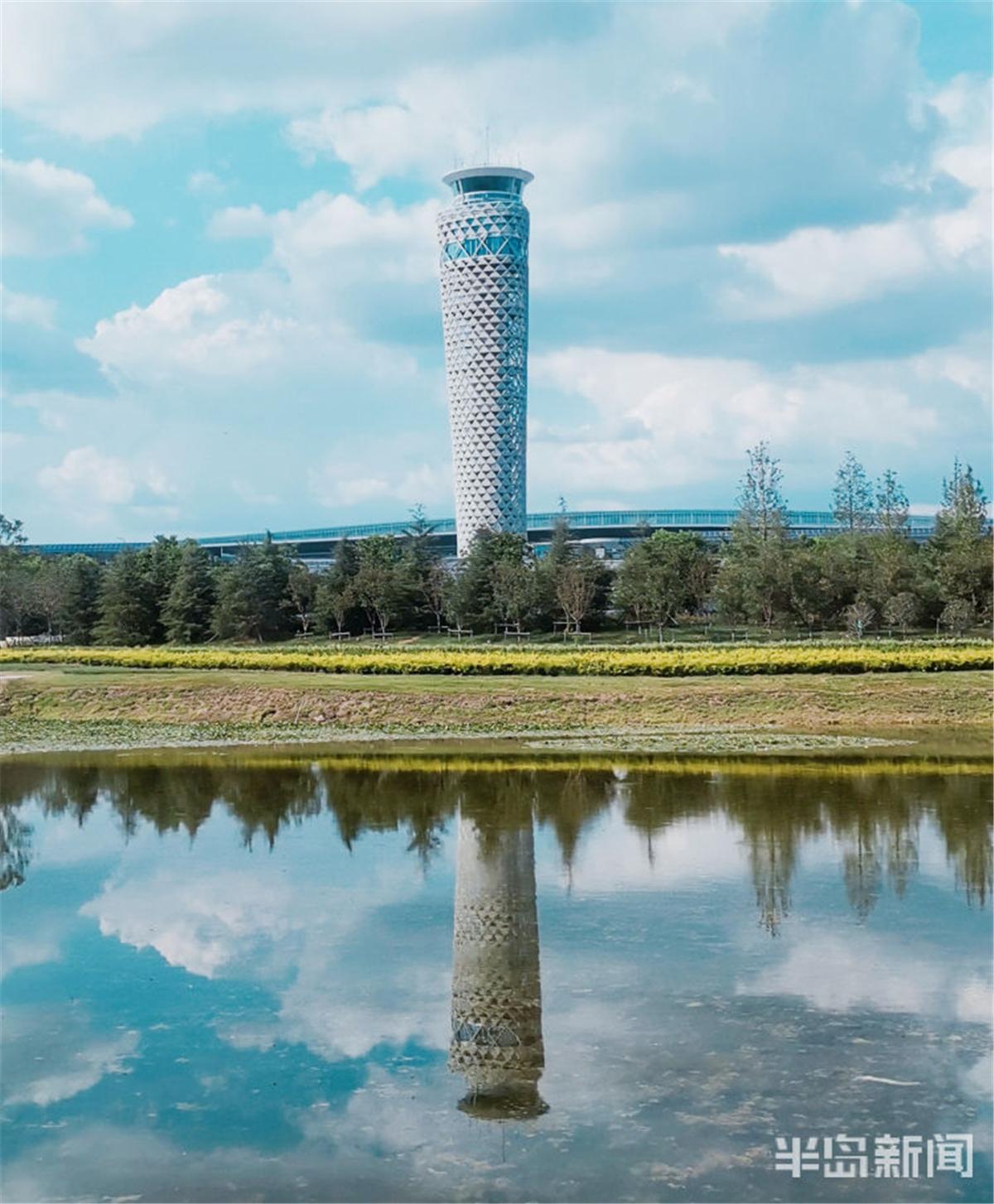 """青岛新机场""""大脑""""已建成 40余项空管工程竣工验收"""