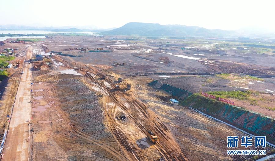 湖北鄂州加快临空经济区建设 鄂州机场2021年建成运营