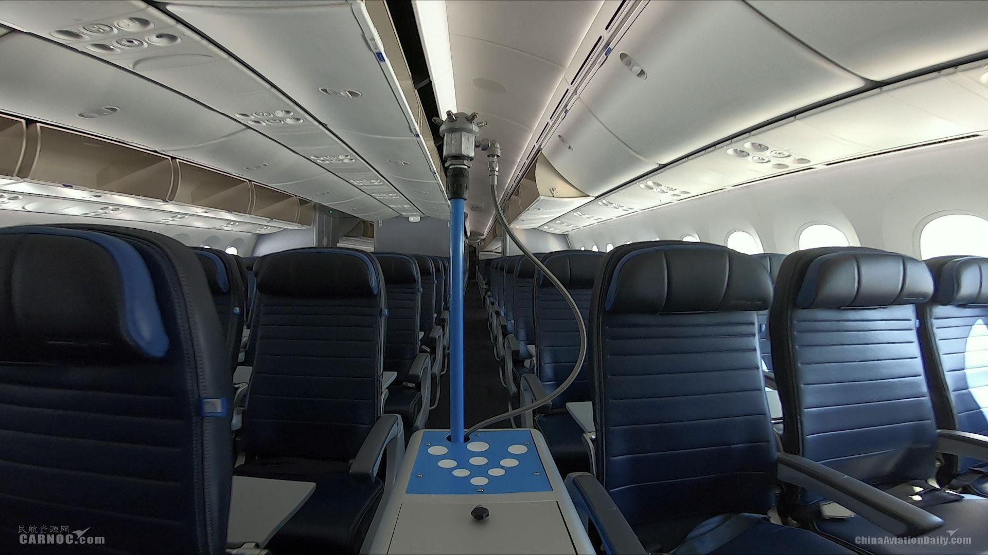 美联航客舱清洁增设抗菌喷雾消毒 保障旅客出行安全