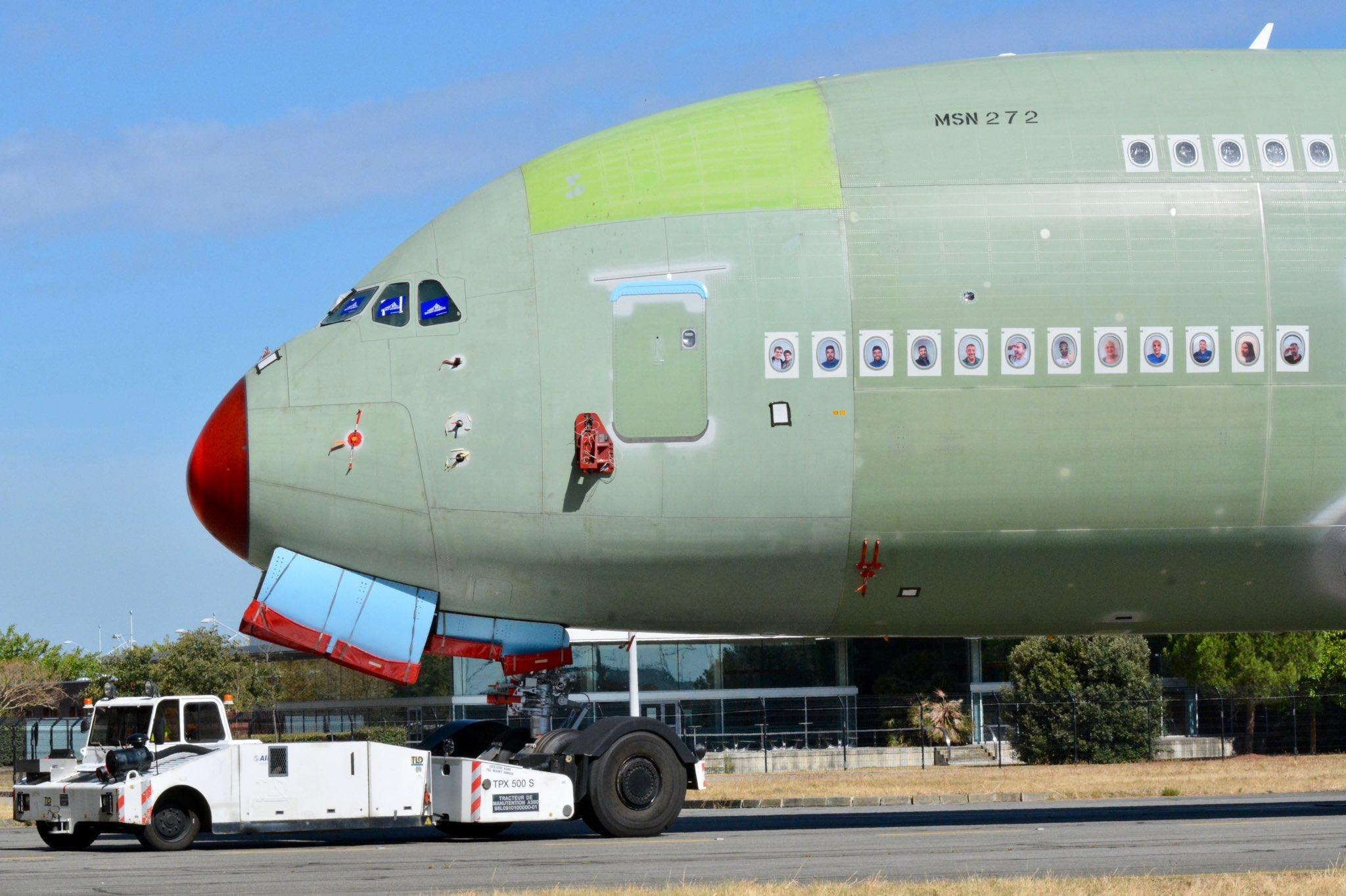 图:最后一架A380