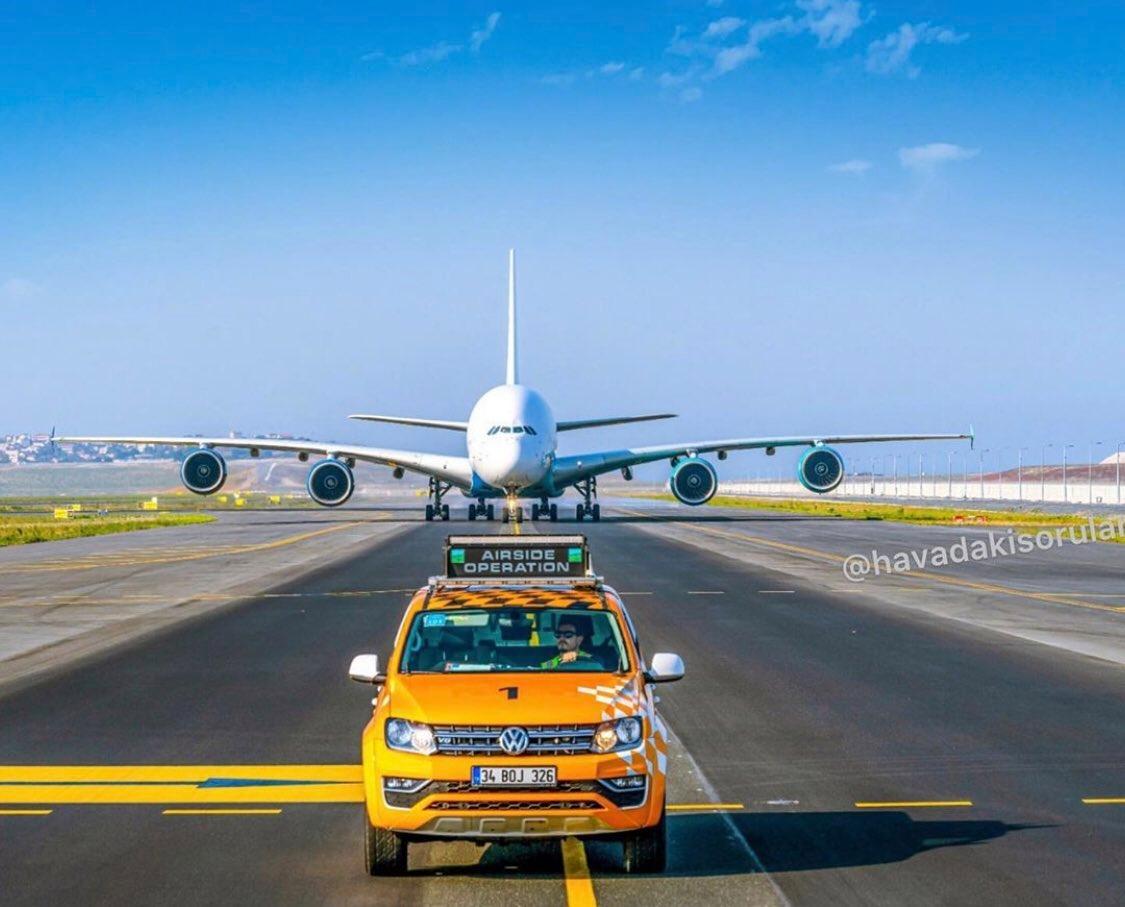 多图:全球首架A380货机完成改装后的首次货运飞行