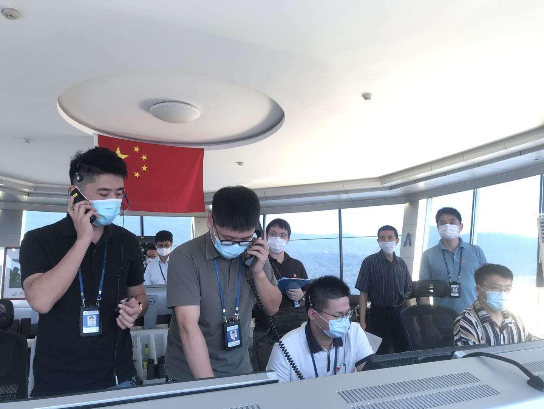 珠海空管站开展内话设备故障联合实战应急演练