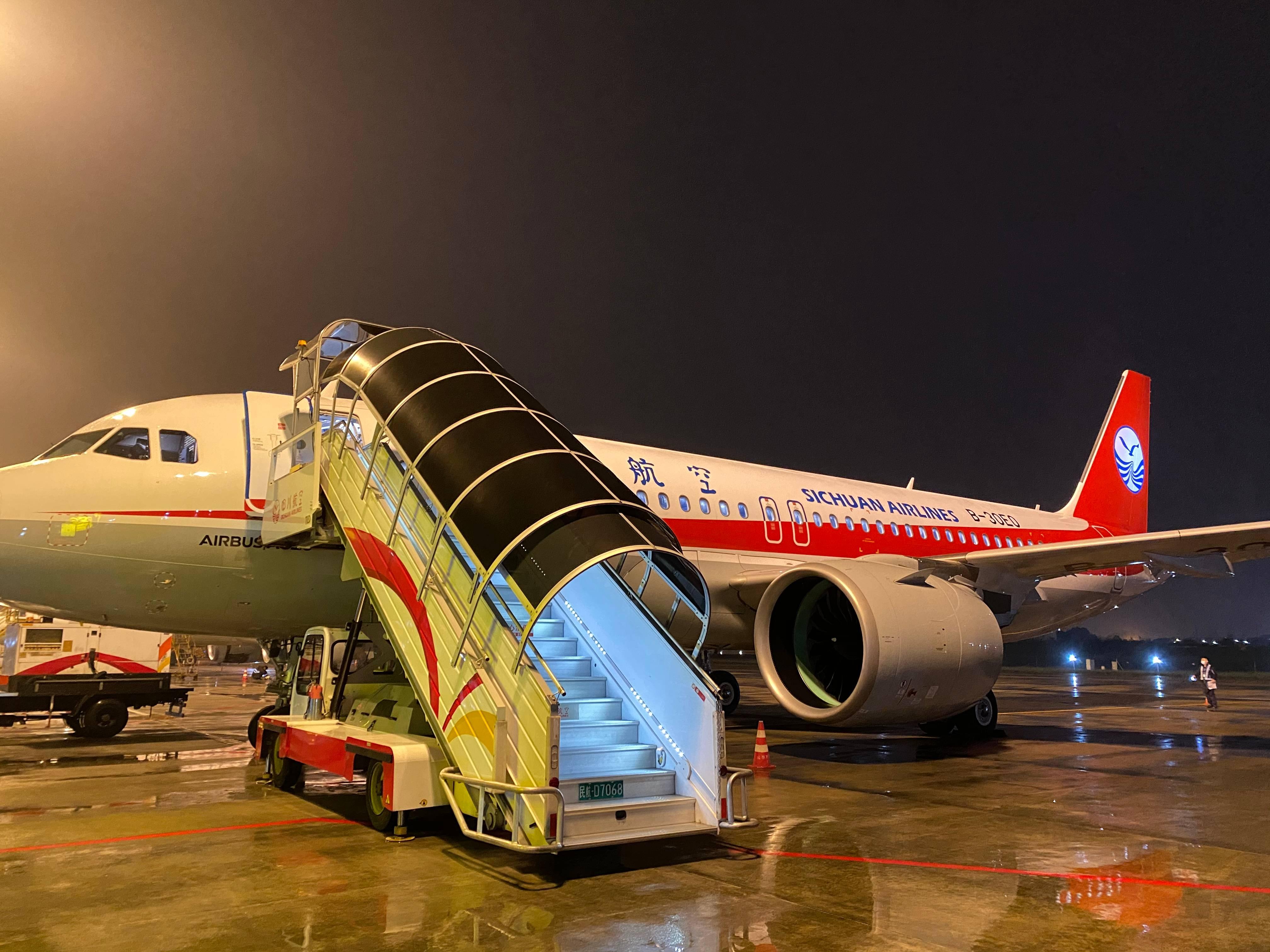 新机加盟 川航机队规模达165架
