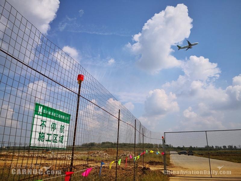 合肥新桥机场机坪改扩建工程计划2021年6月竣工
