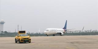 武汉直飞雅加达航线成功首航 系疫后新开首条国际定期航线