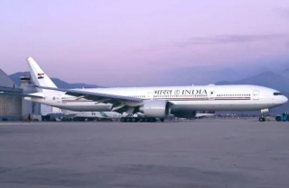 """印度首架总统专机到货 媲美""""空军一号"""""""