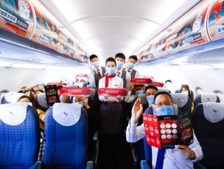 红土航空抖音家乡号主题航班启程 开启潇湘美食漫游记