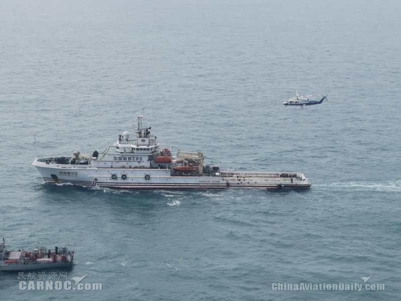 生命至上 南航通航国庆期间执行海上急救任务