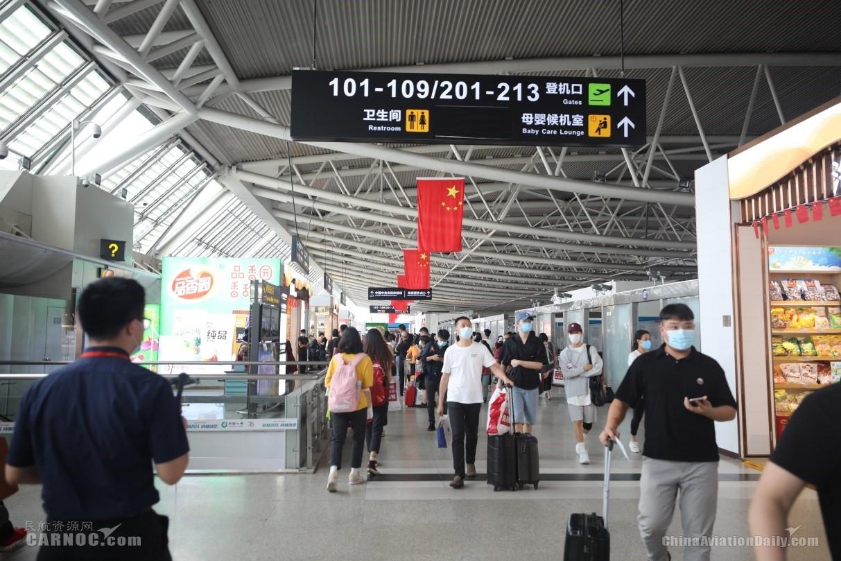三亚机场国庆中秋黄金周期间累计运送旅客48.6万人次