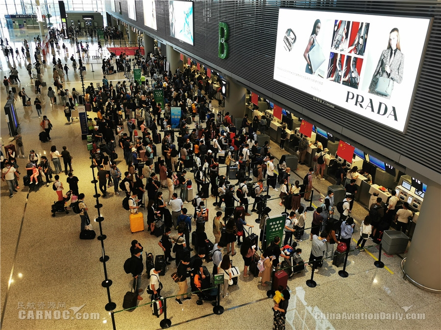 东航国庆中秋长假承运旅客280余万人次 国内航班总班次同比增长超15%