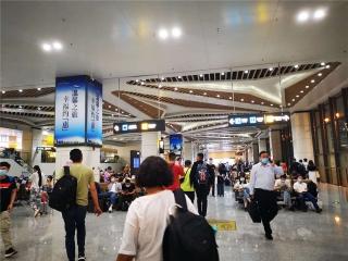 国庆中秋假期惠州机场迎来今年运输最高峰,进出港旅客同比增长22.5%