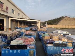 青藏高原最大国际机场单日进港货邮突破100吨