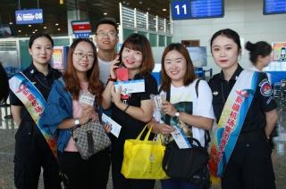 库尔勒机场单日旅客人数、单周中转旅客人数创年度双高