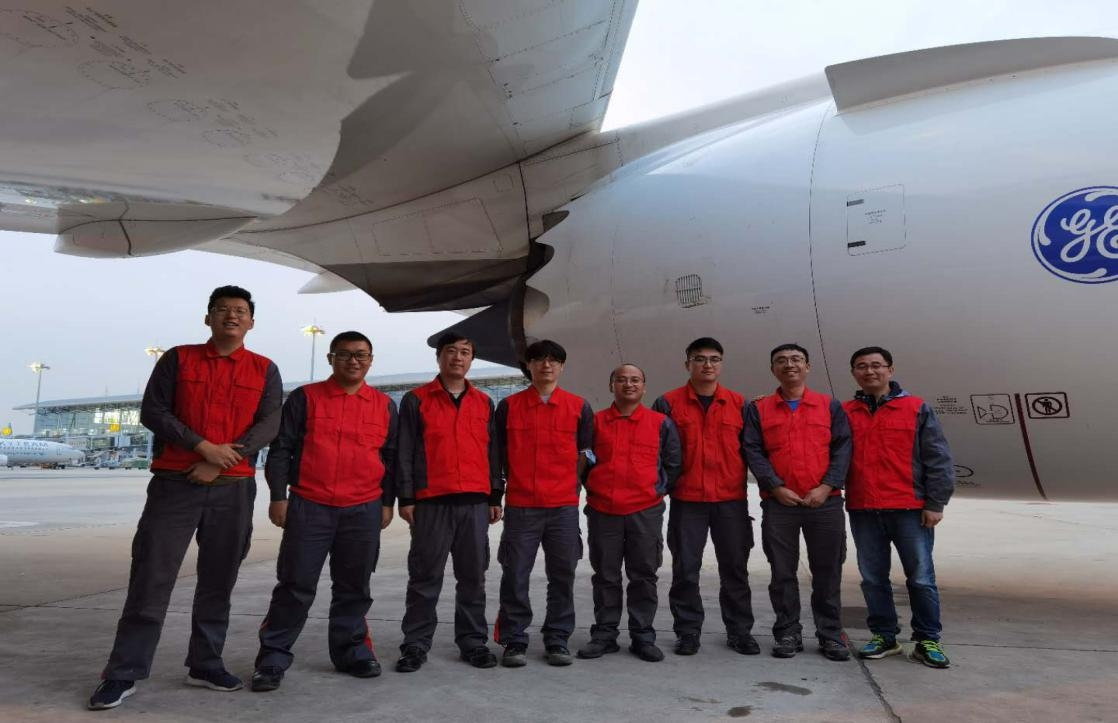 金鹏航空维修团队