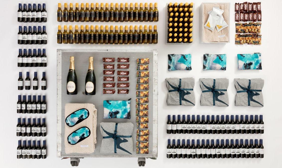 澳航两小时内售出1000部手推餐车,来自退役的747机队