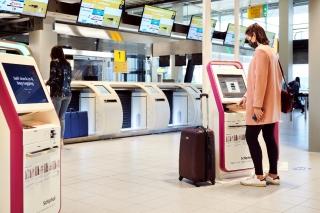 史基浦机场新设零接触行李托运点