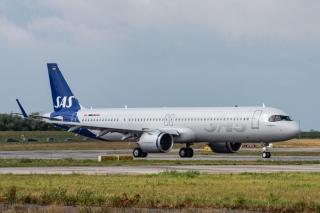 北欧航空接收其首架远程型A321LR