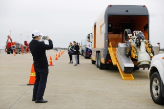 浦东机场今日举行应急救援综合演练