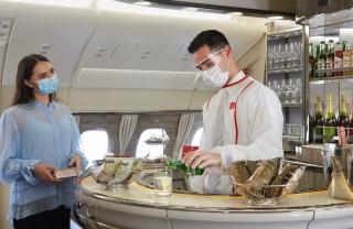 阿联酋航空打造旗舰客机A380机上服务新体验