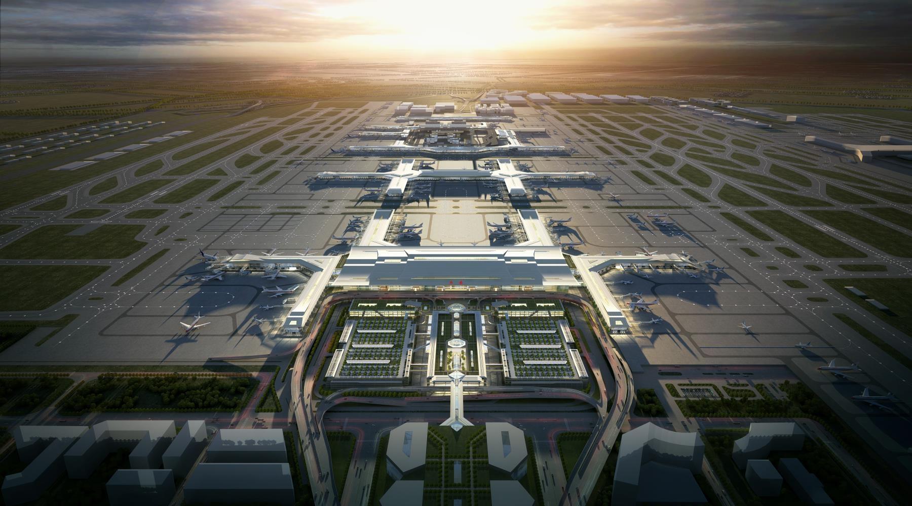 西安咸阳国际机场三期扩建工程初步设计及概算整体获得批复