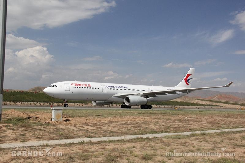 冬航季东航在西安投放四架宽体客机运营