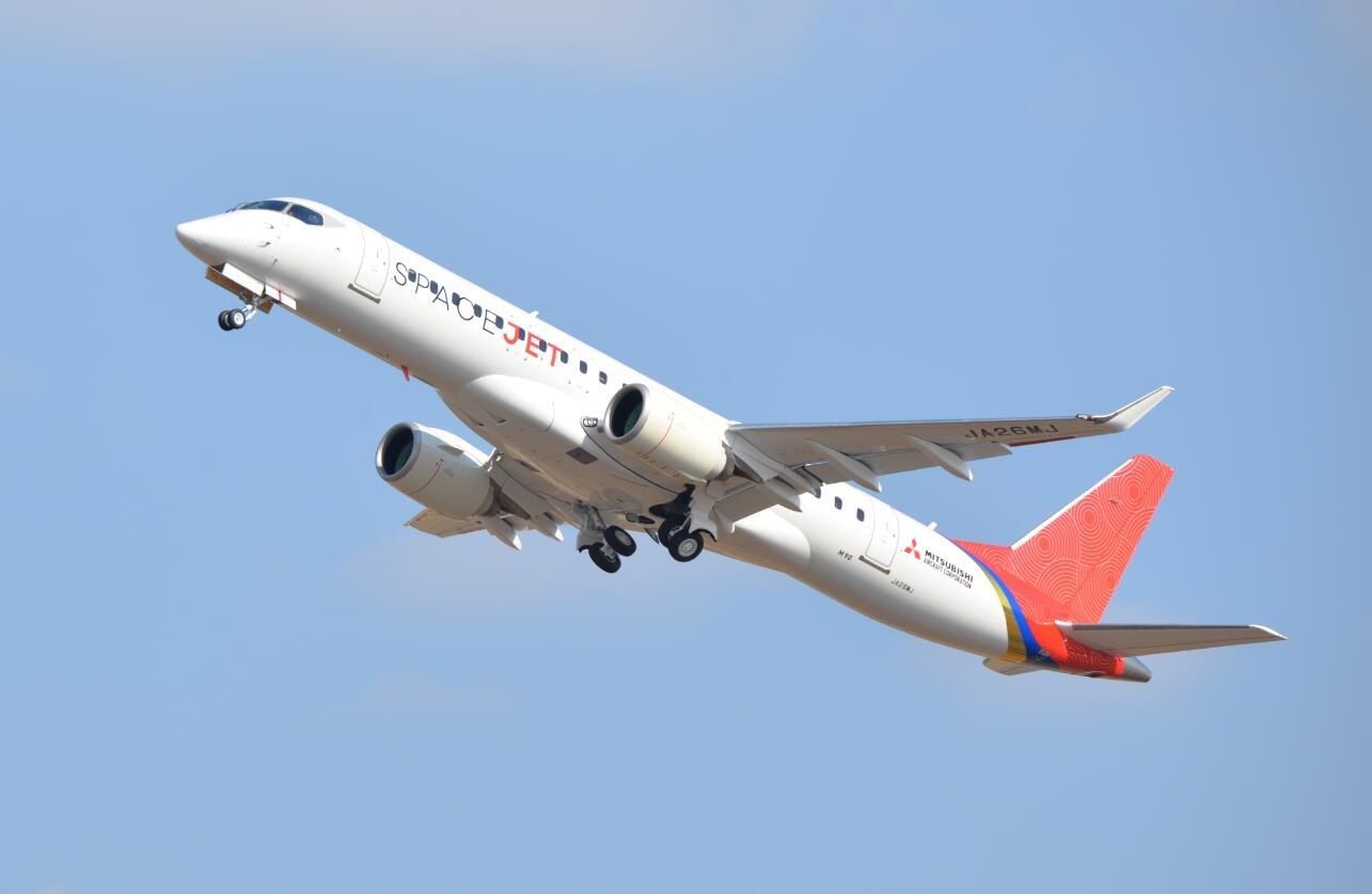 日本三菱重工计划冻结SpaceJet支线客机项目