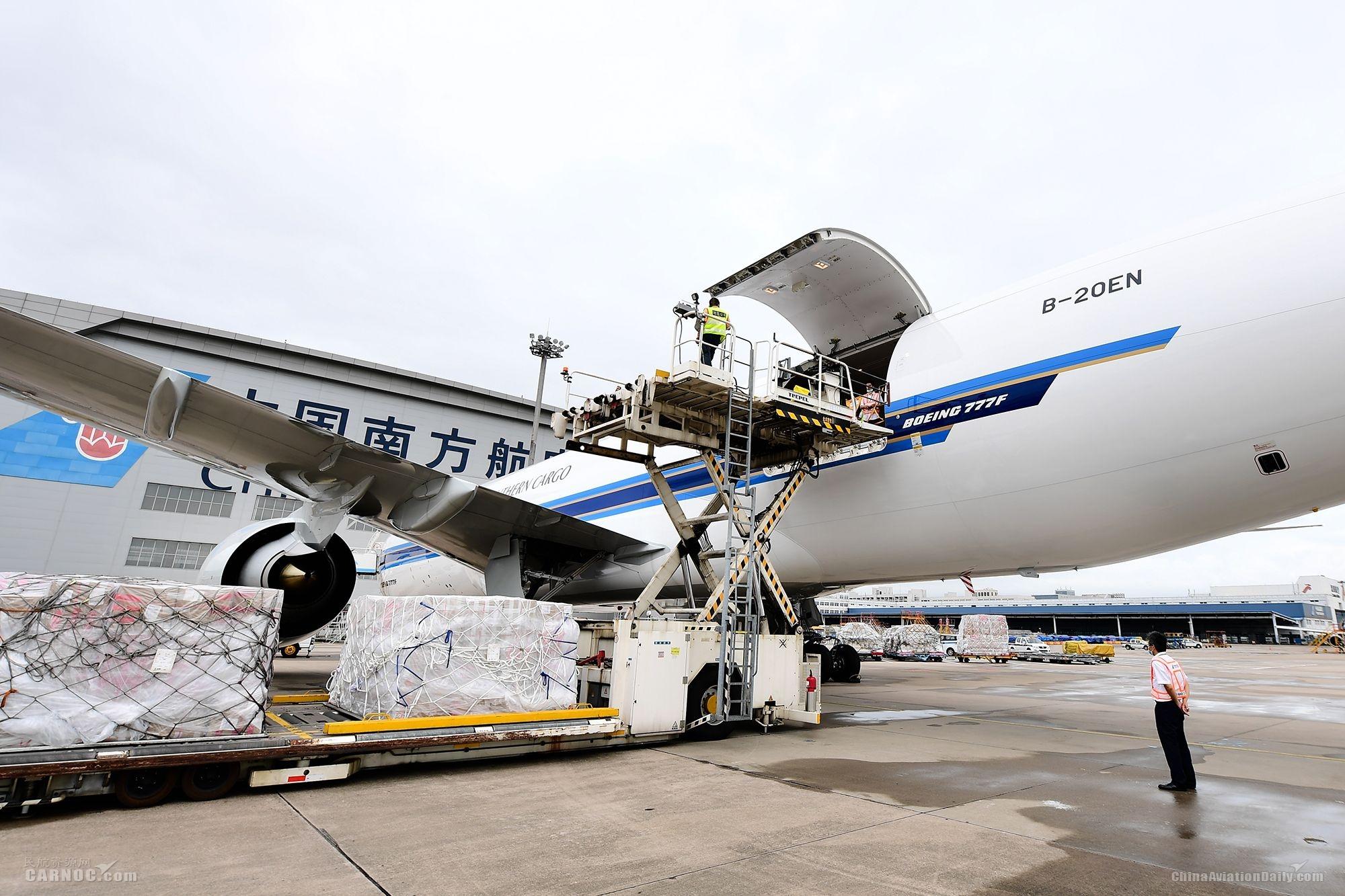 深圳机场冬春航季国际货运航班同比增长将超六成