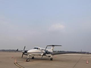 """临沂机场开通首条""""环鲁飞""""通用短途运输航线"""